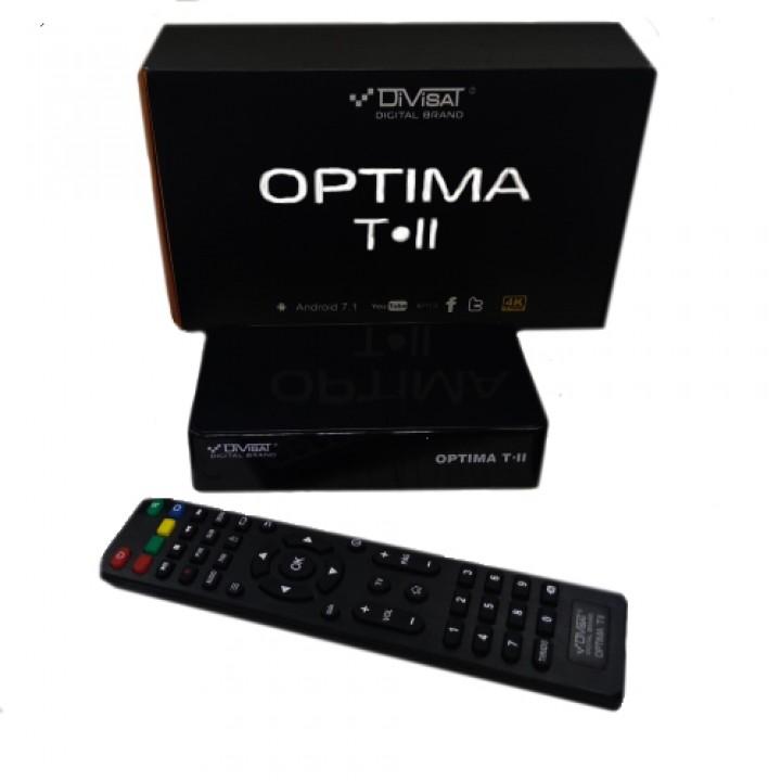 Цифровая приставка Андроид Optima T-II