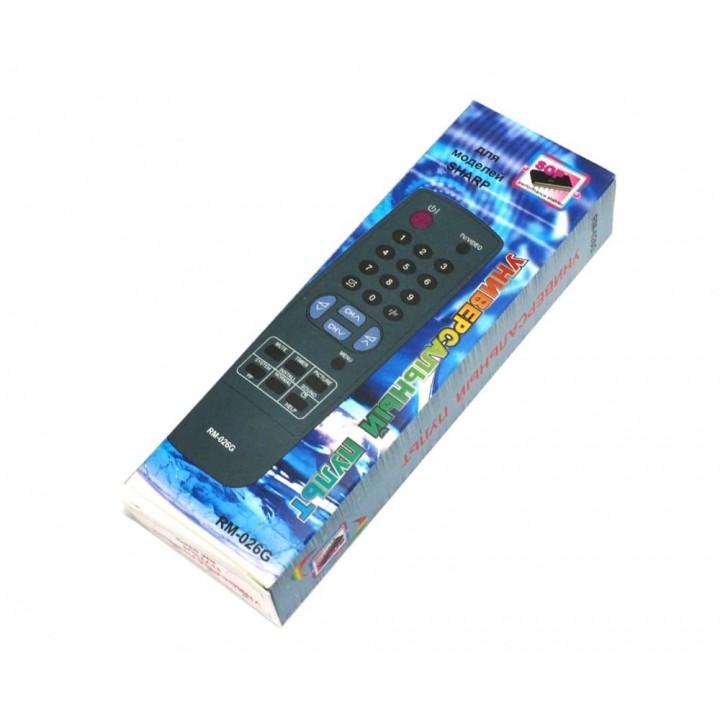 Пульт Universal Sharp RM-026G