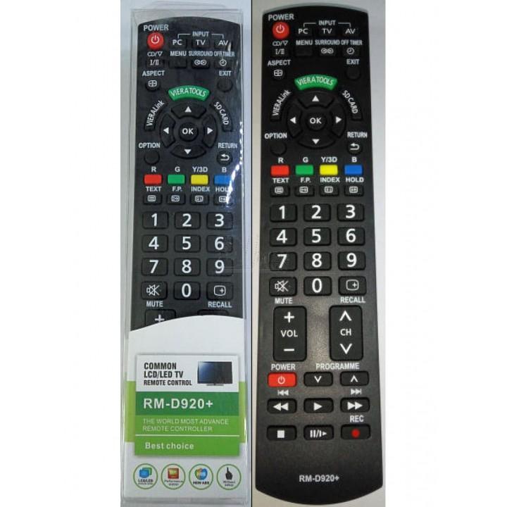 Пульт Panasonic RM-D920+ 3D LED TV универсальный