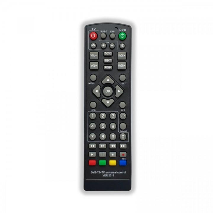 Пульт универсальный для приставок DVB-T2+TV ver.2019 г.